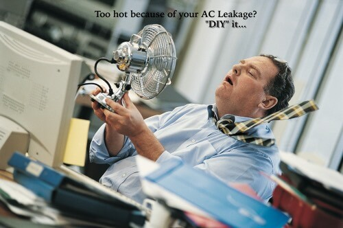 Too hot because of your AC Leakage